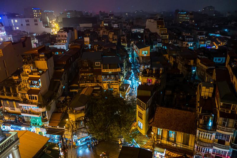 Rooftop View, Hanoi, Vietnam