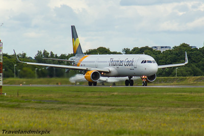 Airbus A321's of Thomas Cook Airlines