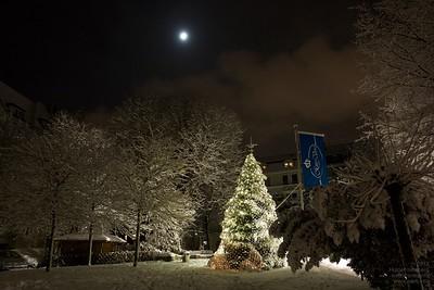 Kaiserbrunnen Dortmund im Schnee 2010