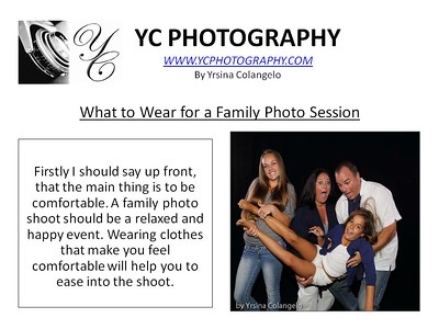 YC Photography Tips