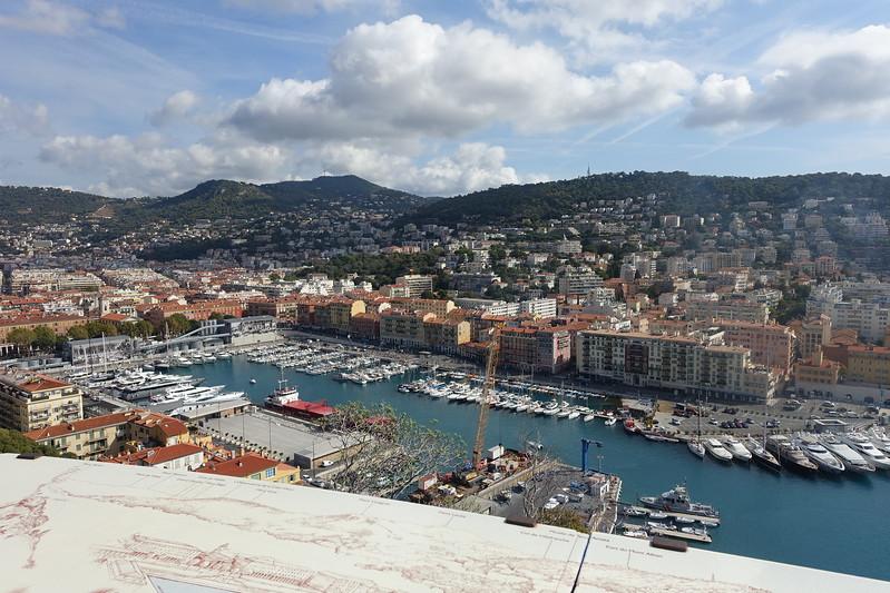 See the Parc de la Colline du Chateau on your short visit to Nice, France.