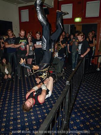Nightmare Wrestling - Blood, Rock and Wrestling 16.01.2010