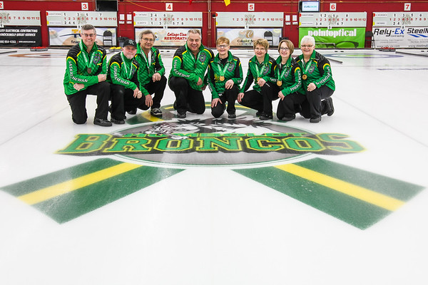 College Clean & Restoration Canadian Masters Curling Presentations