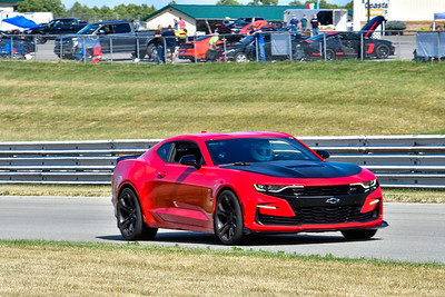2020 SCCA July 29 Pitt Race Interm Red Camaro