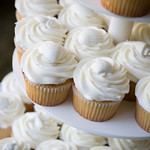 Perhaps cup cakes are more your style? The Casual Gourmet does it all. Photo by Bello Photography - The Casual Gourmet, Cape Cod Wedding Caterer