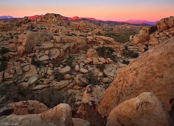 A Sea of Boulders