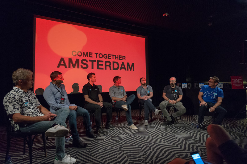 2018_06_29, Amsterdam, Brian Rothschild, Christian Sonhel, Come Together Amsterdam, Dave Clarke, Fons van den Berg, Larry O'Connor, Melkweg, Names, NL, Pietro Rossi, Thomas Lund