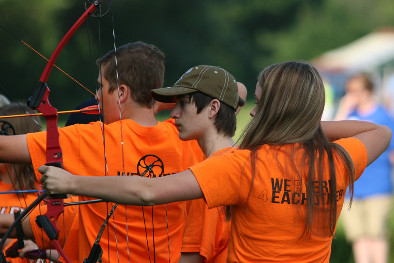 2014 July Iowa Games Archery