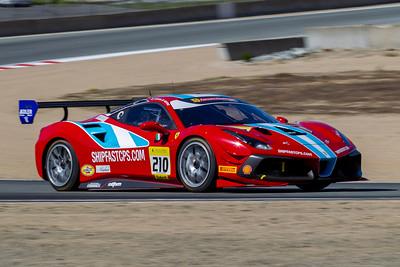 2020 Ferrari Challenge at WeatherTech Raceway Laguna Seca