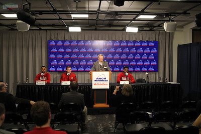 MVC Arch Madness Seeds 1-6  Pre Game press conference 3-1-2018