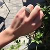 2.10ct Art Deco Peruzzi Cut Diamond Ring, GIA W-X SI2 17