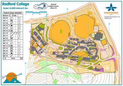 26 February 2020 Radford College sprint