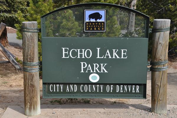 Mon., Oct. 24, 2016 -- Echo Lake,  Colorado