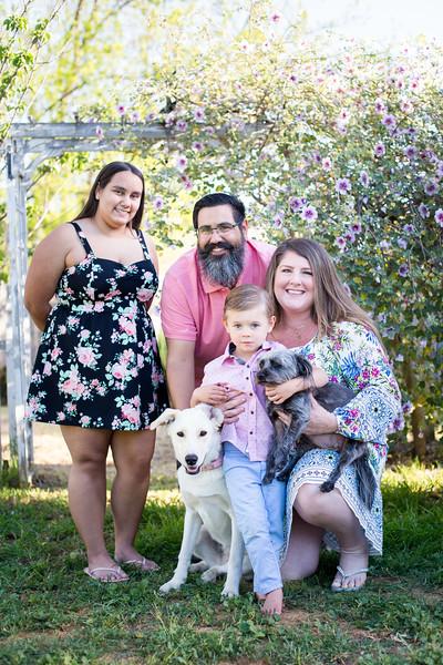 Gutierrez Family Easter