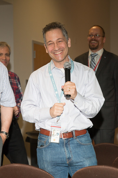 "Steven Horowitz makes remarks -- Retirement party for Robin ""Tuck"" Stebbins, NASA/GSFC, May 20, 2016"