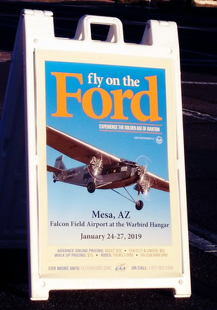 Ford Tri-Motor at Falcon Field