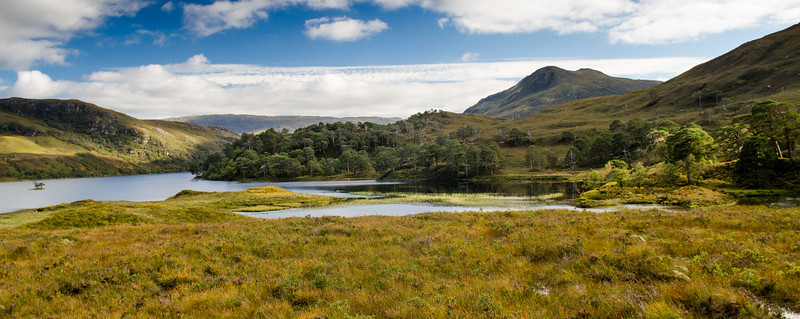 Loch Clair in Glen Torridon