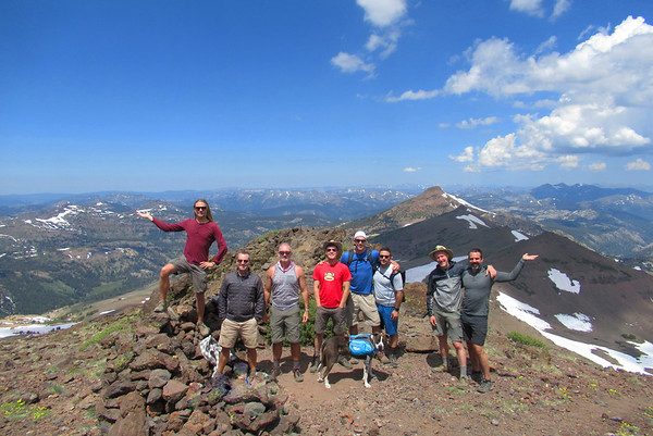 Sonora Pass: July 27-30, 2017