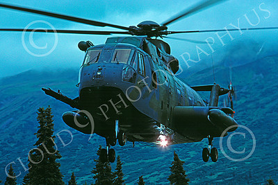 Sikorsky H-3 Jolly Green Giant USAF Military Helicopter Pictures