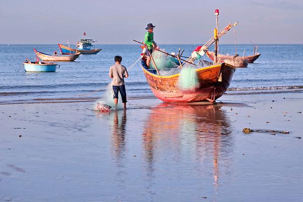 La plage de Mui Ne