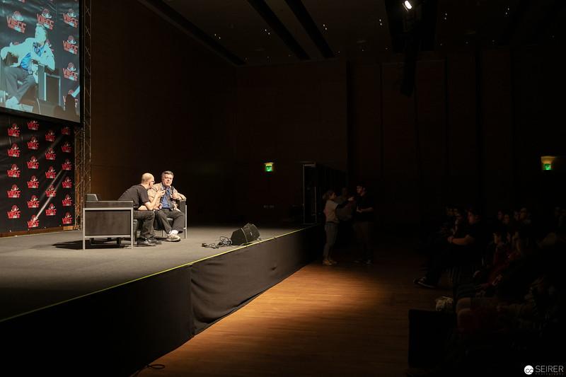 Neal Adams auf der Vienna ComicCon 2018