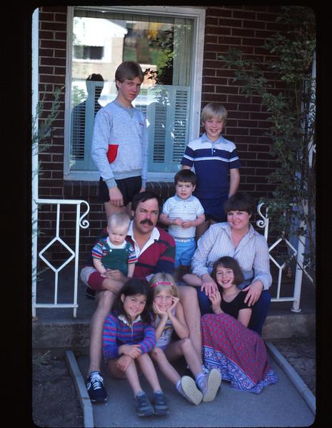 Russs,Nate,Mikey,Mike,Joe,Michelle,Nichole,Crissy & Monica,    1984