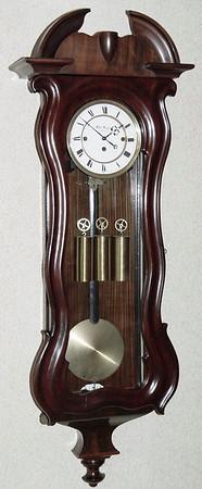 VR-296 - Serpentine Granne Sonnerie striking Austrian Vienna Regulator by Otto Wagner, Funfhaus