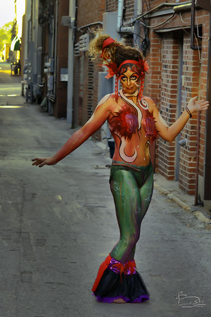 Body Painting by Amber Atkinson http://www.atkissonarts.com/