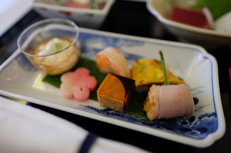 ANA Flight - Food (Houston to Tokyo)