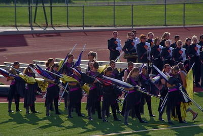 Harborcreek Marching Band and Color Guard