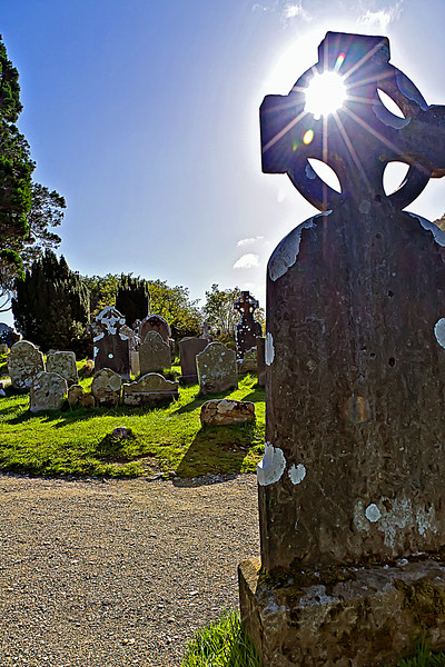 Glendalough Monastic Settlement, County Wicklow, Ireland