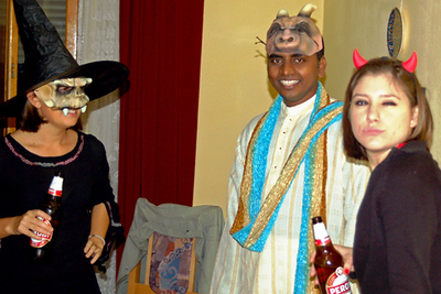 Tirana - Halloween 2007 at Ryan's