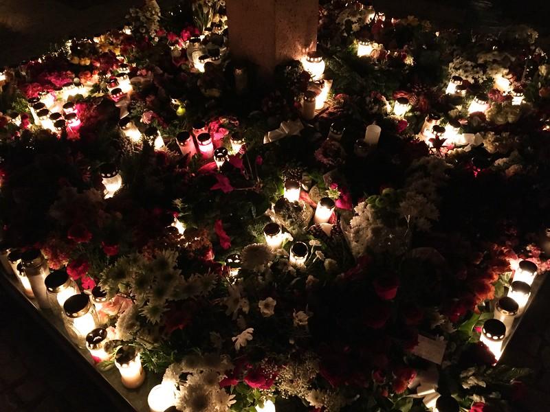 Sverige, Malmö Limhamn All Saints' Day iPhone 15