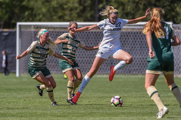 NCAA Women's Soccer - CU vs CSU - 20160821