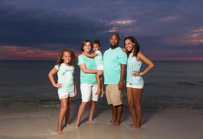 The Calloway Family Panama Beach 2015