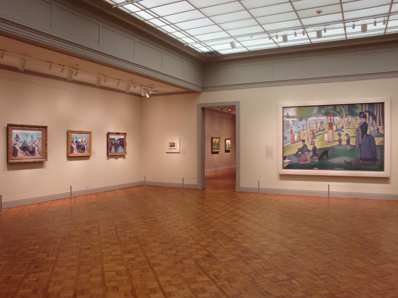 One of many rooms dedicated to the Impressionists.