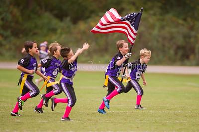 WAA Flag vs Swift Creek Cougars 10-14-17