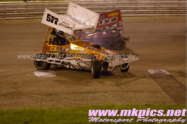 BriSCA F2 Stock cars, Birmingham Wheels, 25 October 2014