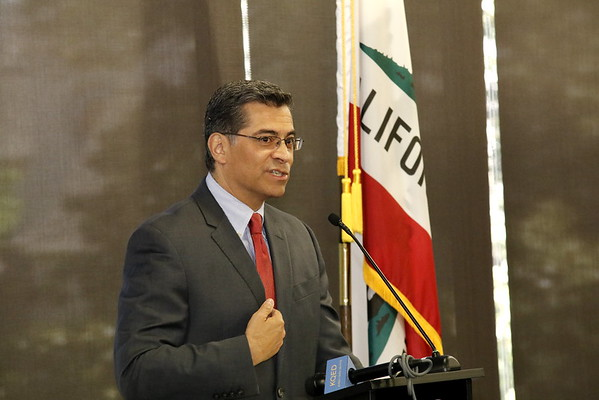 CA Attorney General Xavier Becerra at the Sacramento Press Club Luncheon 05 15 17