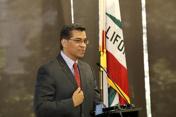 CA Attorney General Xavier Becerra at the Sacramento Press Club Luncheon 05 15 17
