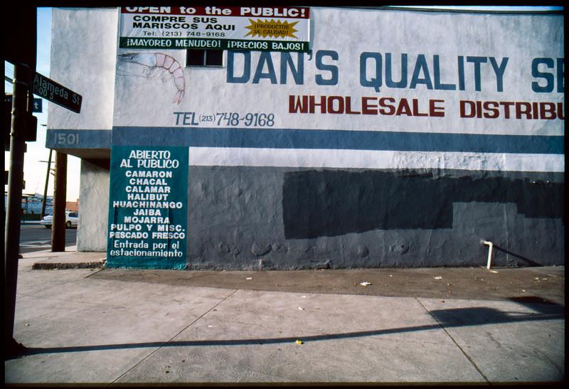 Industrial buildings along South Alameda Street between 16th Street and 15th Street, Los Angeles, 2003