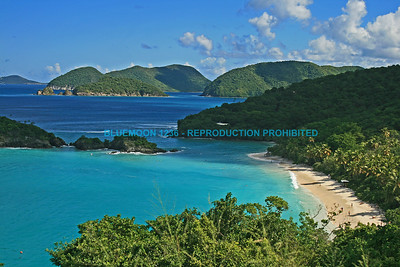 CARIBBEAN SEASCAPES, LANDSCAPES AND BOATS