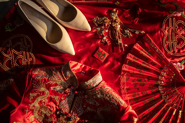Tan Khai Keong wedding day