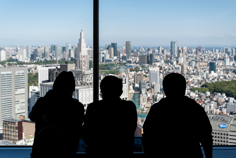 View from TMG Building, Shinjuku