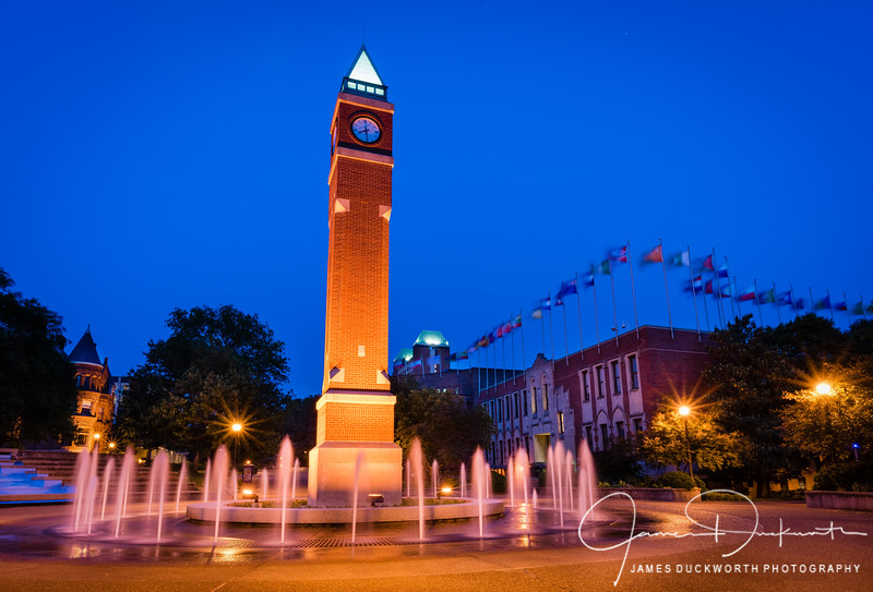 Saint Louis University Clock Tower