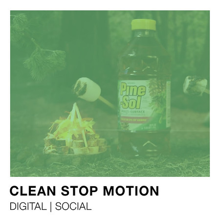 Pine-Sol Stop Motion