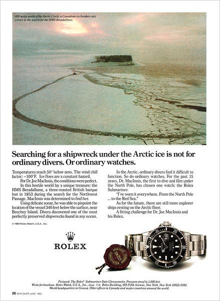 1985 Rolex Submariner ad.jpg