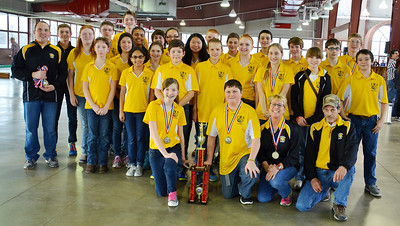 Jefferson Archery State Tournament 2014