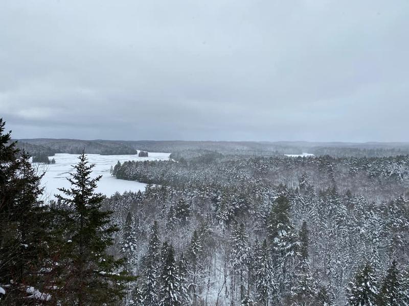 Algonquin Provincial Park - Ontario Winter Hikes