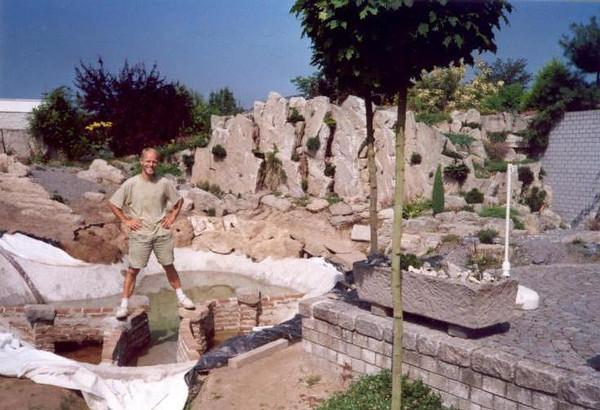 Creation own garden, 1990-1994-developments-today